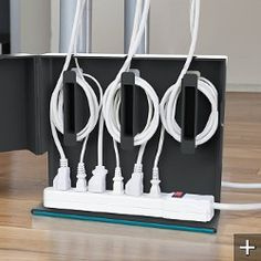 plug hub under-desk cord management by quirky $25