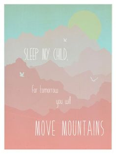 Move Mountains in pink | Children Inspire Design