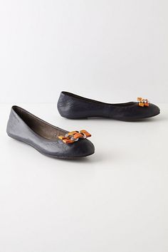 anthro bow buckle flats