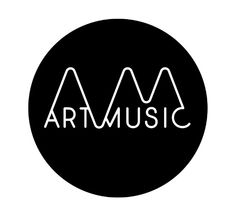 Artmusic identity and website for Australian classical music hub. Frost design http://www.artmusic.com.au/