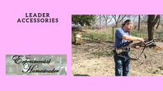 Sheri Ann Richerson from ExperimentalHomesteader.com is joined by Jeffrey Rhoades to talk about and test the Leader Accessories Compound Crossbow that she received for review.   Disclaimer: I did receive this item at a reduced price in exchange for my honest unbiased review. All opinions are my own.  Click here to purchase this item - http://ift.tt/1Psq4dc - please note this is an affiliate link and I do receive a small commission if you click on this link and buy this item.  Be sure to…
