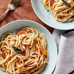 Pasta With Delicata Squash and Sage-Brown Butter