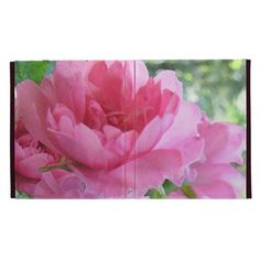 Soft Pink Rose iPad Folio Covers