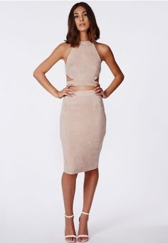 Missguided suede skirt in nude/taupe - to buy or not to buy?
