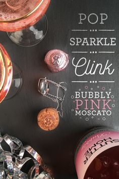 Pop open our Bubbly Pink Moscato and you'll be tickled pink by its sparkles and floral aromas. Pairs delightfully with friends, toasting and sweet desserts.