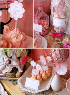 Paris parties are always so beautiful and elegant. These Paris Party inspiration posts will leave you feeling inspired! Pink Parties, Birthday Parties, Parisian Party, Parisian Decor, Paris Birthday, 15th Birthday, Tiffany Party, Bird Party, Sweet Sixteen Parties