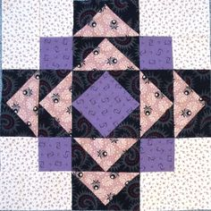 #12 Second Saturday Sampler Block