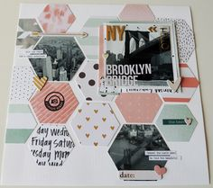 Loooove these photos I took in NYC <3 and it was so fun creating these hexagon layout