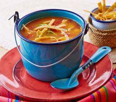 Meksykańska zupa limonkowa z kurczakiem Chili, Ethnic Recipes, Food, Viva Mexico, Thermomix, Meal, Chile, Chilis, Eten