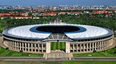 Olympic Stadion, Berlin End View