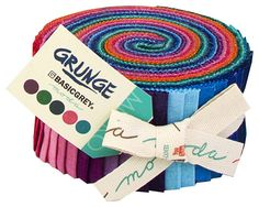 Moda GRUNGE Jelly Roll 2.5 Precut Fabric by materialgirlchic
