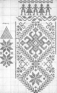 Thrilling Designing Your Own Cross Stitch Embroidery Patterns Ideas. Exhilarating Designing Your Own Cross Stitch Embroidery Patterns Ideas. Crochet Mittens, Mittens Pattern, Crochet Gloves, Knitting Charts, Knitting Stitches, Knitting Patterns, Embroidery Patterns, Cross Stitching, Cross Stitch Embroidery