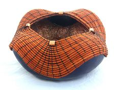 This very special gourd bowl is 8.5 diameter and 4 tall. The gourd was dyed with…