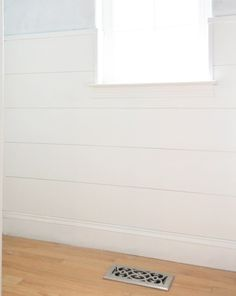 A simple tutorial for cheap & easy DIY shiplap using inexpensive material from a home improvement store.  Remember when we were all into the board and batten wall treatment a few years ago? Everyone d