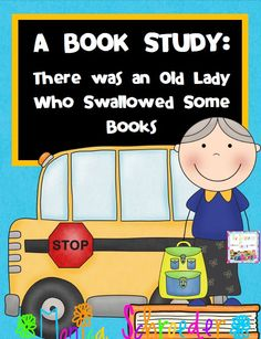 Friends~Who doesn't love an old lady book right? Well, I love There was an Old Lady who Swallowed Some Books for sequencing and lots more. This 32 page book study will introduce your kiddos to the Old Lady by working with pre reading, during reading, and after reading activities.  $2.99