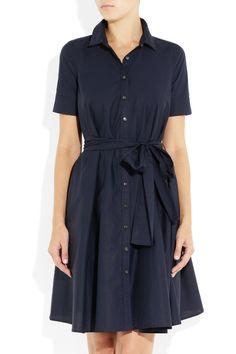 (JE)  J.Crew Stretch-cotton shirt dress US0 GBP137.50