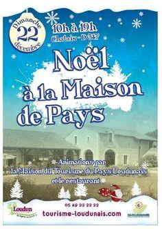 Marché de Noël à la maison de pays. Le dimanche 22 décembre 2013 à loudun.