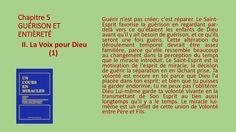 Section II -  La voix pour Dieu by Pierrot Caron via slideshare