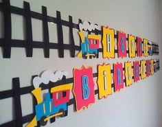 Image result for train birthday diy decorations