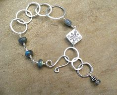 Labradorite Bracelet   Sterling Silver Jewelry   by ZorroPlateado, $65.00