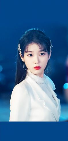 #IU #Hotel_Del_Luna #tvN #LeeJiEun #YeoJinGoo Luna Fashion, Sweet Fashion, Fashion Hair, Iu Moon Lovers, Eunji Apink, Female Girl, Sweet Style, Beautiful Asian Girls, K Idols