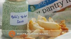 The Essential… Matt's Tartare sauce | MasterChef Australia #MasterChefRecipes