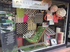 Summer Window Display visual merchandising fun bright bold quirky ...