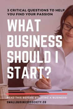 Small business ideas startups - What business should I start 3 key questions to come up with your best business idea(s) – Small business ideas startups Opening Your Own Business, Own Business Ideas, Start A Business From Home, Starting Your Own Business, Home Based Business, Business Opportunities, Online Business, Business Hub, Business Products