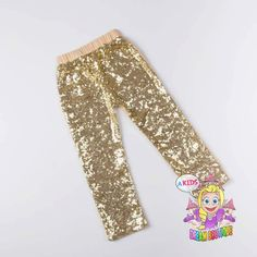 A personal favorite from my Etsy shop https://www.etsy.com/listing/245051900/girls-gold-pants-sequin-leggings-gold