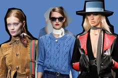 Go minimally chic with some celeb-approved ways of tying the skinny scarf! @TopDrawerLondon