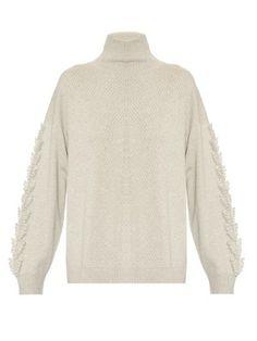 Troisieme roll-neck textured cashmere sweater | Barrie | MATCHESFASHION.COM US