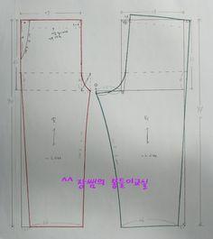 Pants Pattern, Chart, Patterns