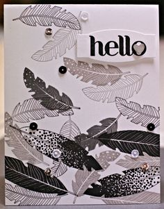 Stylin' Stampin' INKspiration: Quick & Easy Cards, Kim Ryden, Stampin' Up!, Four Feathers, Feathers Framelits, Four You, Love Story Project Life Accessory Pack