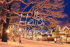 Image result for quotes about the month of november