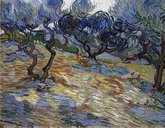 Olive trees....Vincent Van Gogh