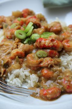 another pinner wrote: Louisiana Crawfish Etouffee! Sub out flour for coconut flour (I would use about half the amount suggested), since it makes an effective roux. I'm not a crawfish etouffee expert, but this was delicious. Crawfish Recipes, Cajun Recipes, Seafood Recipes, Cooking Recipes, Haitian Recipes, Shellfish Recipes, Donut Recipes, Cooking Tips, Chowders