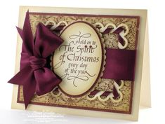 Hold on to The Spirit of Christmas » Quietfire Design » Spellbinders » Amazing Paper Grace