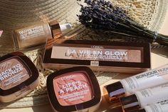 Wake up and glow mit den neuen Sommer Produkten von L'Oréal Paris!    Review #anotherkindofbeautyblog #wakeupandglow #makeup #bronzy #glowy #glowymakeup #summermakeup #spring #tuesdays #blogger #beauty #paris #lorealparis #makeup #april #today #lavieenglow #bonjournudista #glowmonamour #lifeisapeach #backtobronze #neubeidm #blush #highlighter #bronzer #summer #lavender #mood