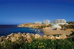 The Radisson SAS on Malta Island. This hotel is awesome... (Malta is a fun little island close to the coast of Italy)