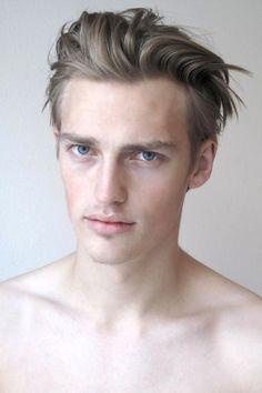 Mens Hair, Model Victor Nylander.