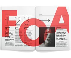 andrew colin beck - beautiful bold red type on a transparency filter, helps to bring a nice impact to the page.