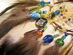 Horse Dancer's Handmade New River Valley Panther Dream Catcher by jungleeyejoe on Etsy