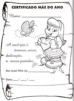 Atividades para o Dia das Mães - Mundinho da Criança - Atividades para Educação Infantil