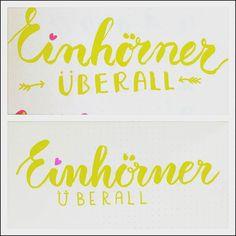 Oben mein Versuch des Lettering vor ca zwei Monaten unten das von gestern  es ist natürlich noch viel Luft nach oben trotzdem finde ich man sieht einen Unterschied  also weiterhin üben üben üben!     _______________________________________ #practicewillmakeperfect #lettering #handlettering #handwriting #brushlettering #letterattack #calligraphy #handmadefont #handletteredabcs_2016 #tombow #unicorn #brushcalligraphy #showmeyourdrills #art #creativecommunity #creative #handmade…