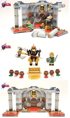 LEGO - Legend of Zelda: Iron Knuckle Encounter. NEEEEEEEEEEEEEED