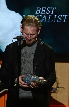 Corey Taylor, gotta love this man he is so passionate about music!