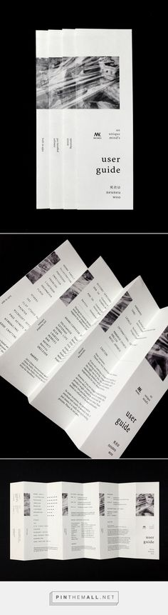 Shameless self-promotion brochure portfolio cv resume on Behance - created via http://pinthemall.net