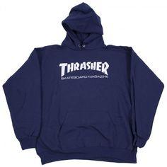 6273a90d4edd THRASHER HOODIE SKATE MAG LOGO NAVY | Blue Tile Lounge Skateboard Shop