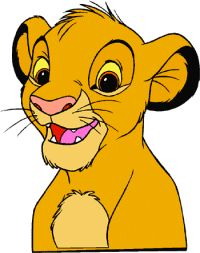 Baby Simba Clip Art and Disney Animated Gifs - Disney Graphic Characters Brought to You by Triplets And Us
