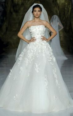 Elie by Elie Saab - Pronovias - Best of the Bridal Ball gowns - Wedding Dress Trends 2014 - Wedding Blog | Ireland's top wedding blog with real weddings, wedding dresses, a...